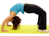 Ćwiczenia rozciągające mięśnie pośladkowe 2